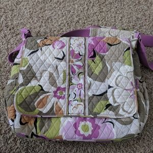 Vera Bradley Cross Body Diaper Bag